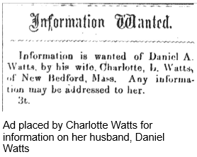 African American Research by popular US professional genealogy services, Lineages: image of slavery newspaper ad.