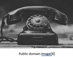 Genetic Genealogy by popular US professional genealogy services, Lineages: image of a spin dial phone.